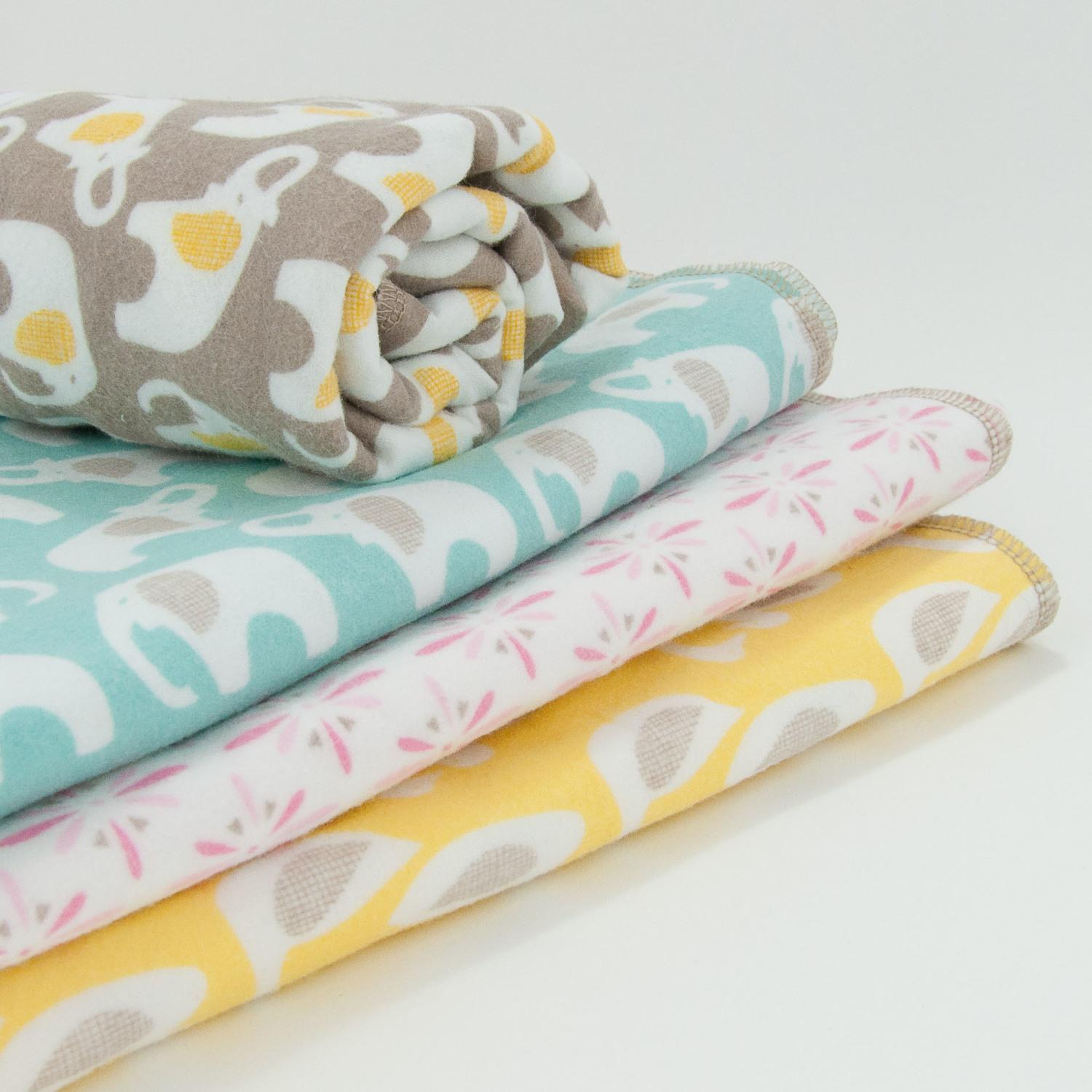 NEW Organic Swaddle Blanket Prints in Stock!