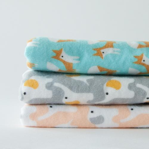 Introducing :: Organic Flannel Swaddle Blankets!