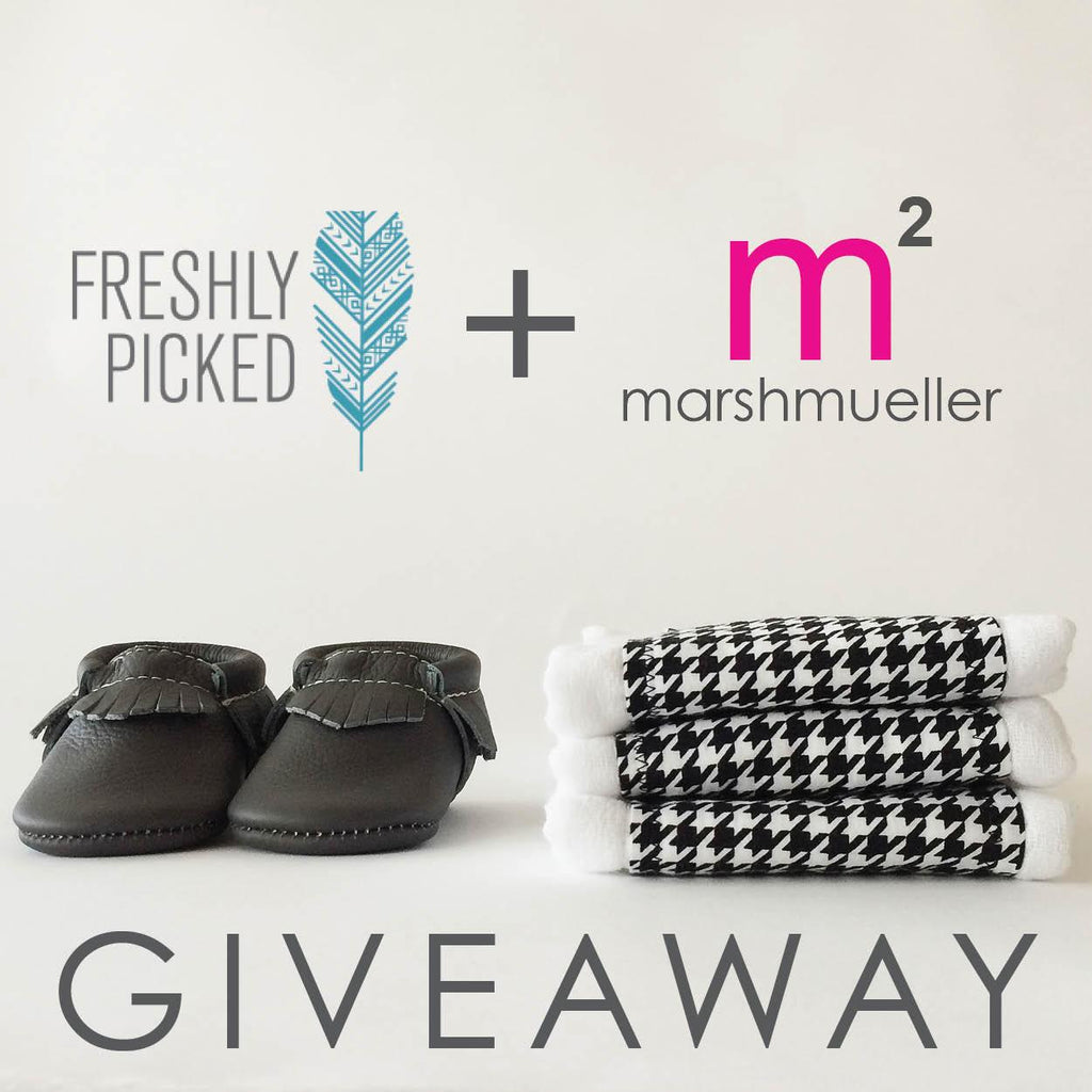 Freshly Picked and MarshMueller Giveaway Graphic
