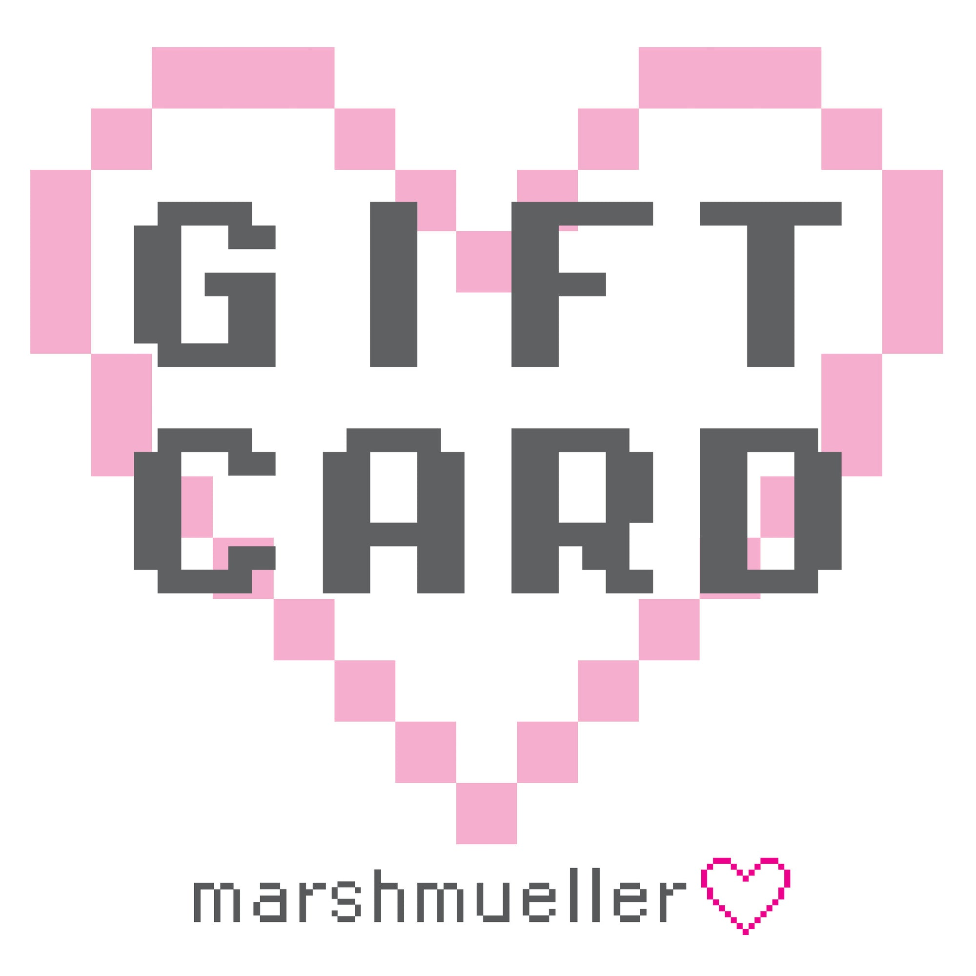 Image of Marshmueller Gift Card Graphic