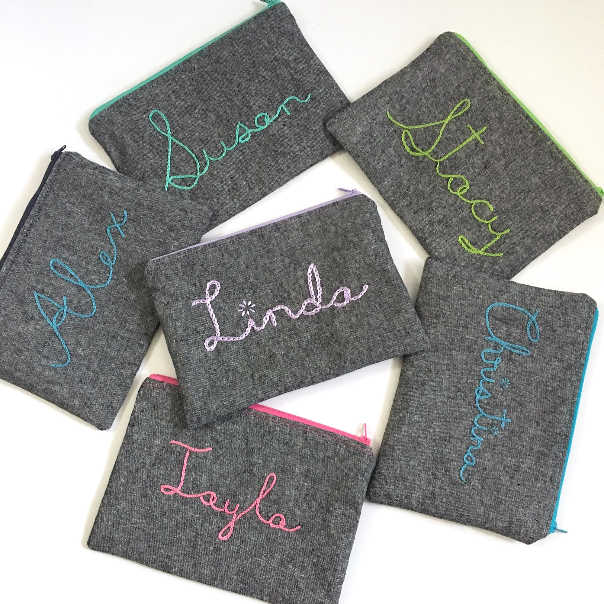 personalized-hand-embroidered-zippered-pouches