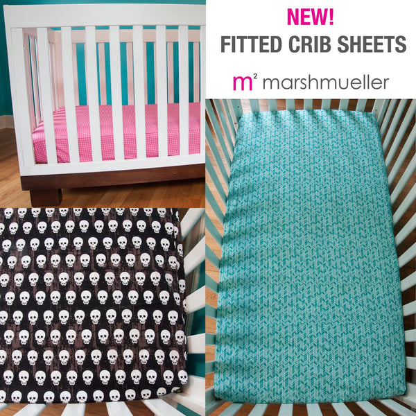 MarshMueller Crib Sheets