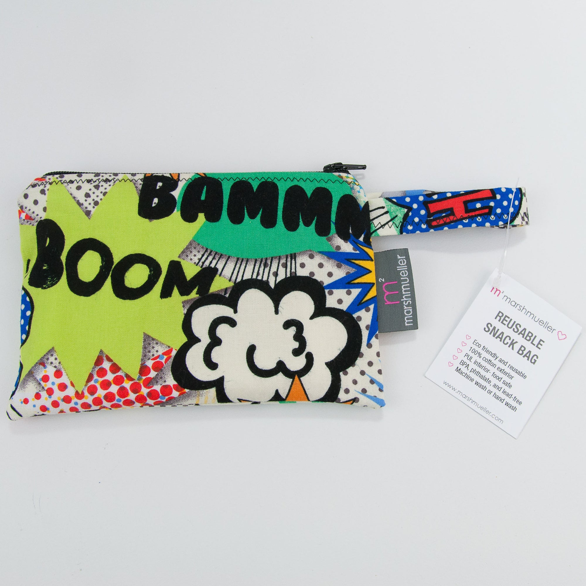 BAM! Reusable Snack Bag, Reusable Snack Bag, - MarshMueller