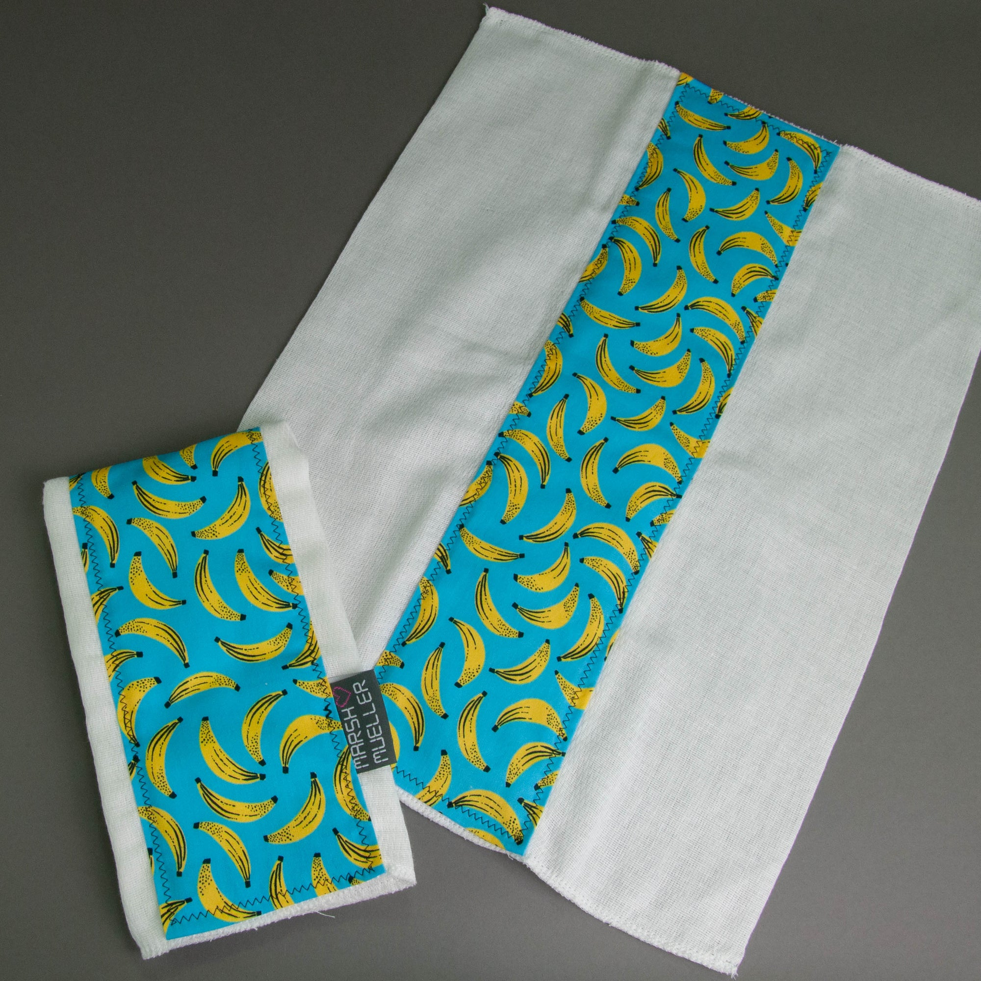 Bananas Burp Cloth Set