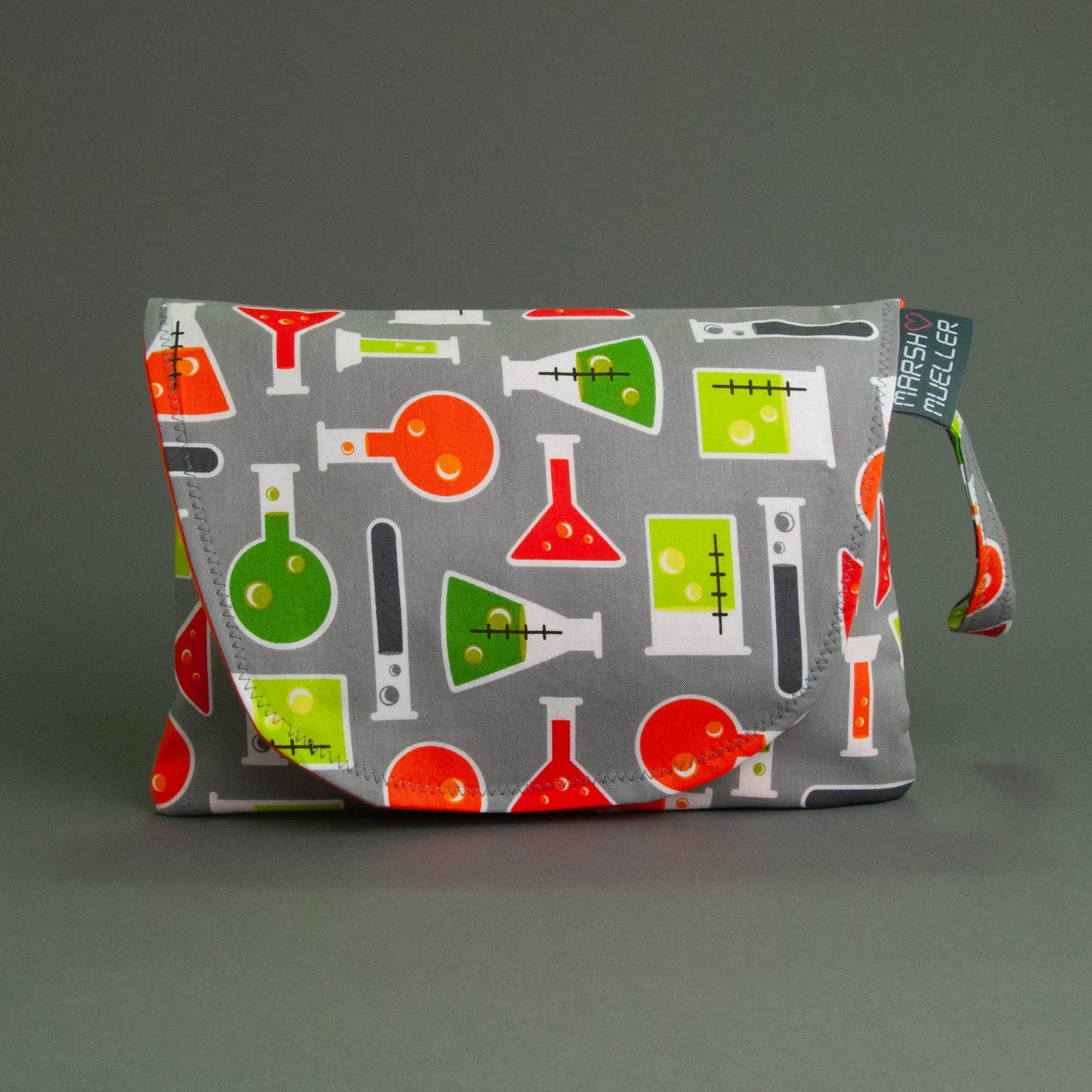 Beakers Diaper + Wipe Clutch