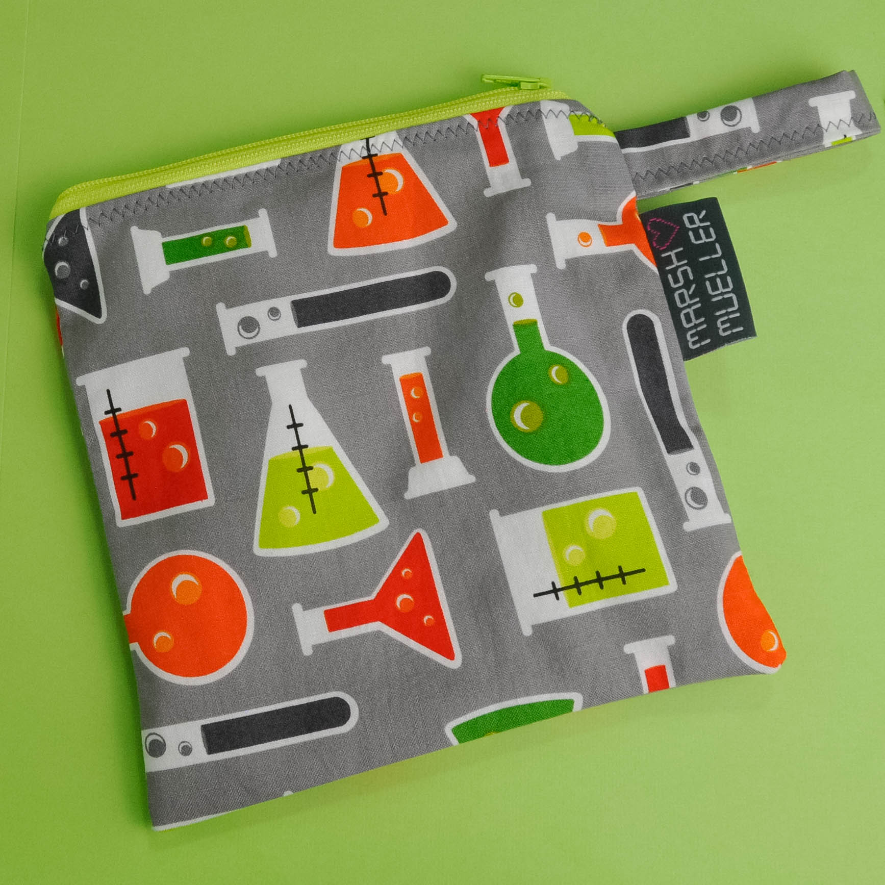 Beakers Reusable Sandwich Bag