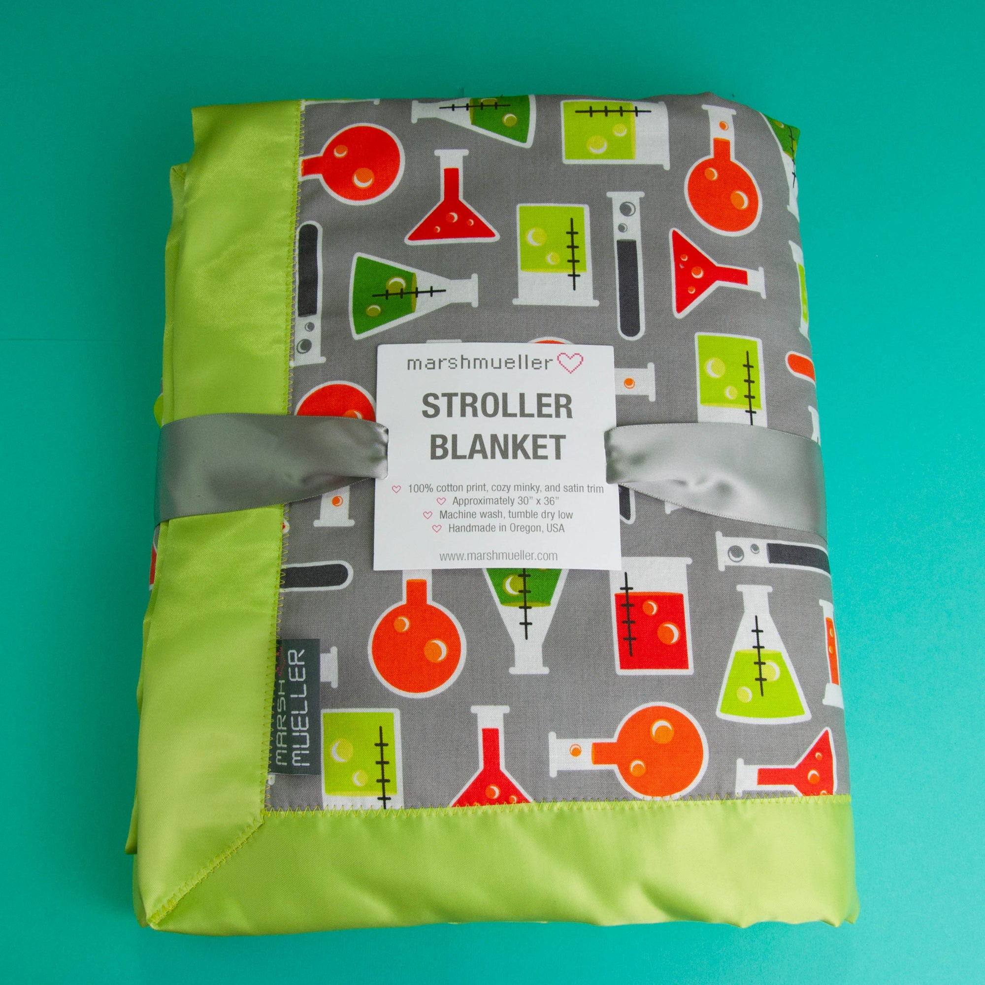 Beakers Stroller Blanket