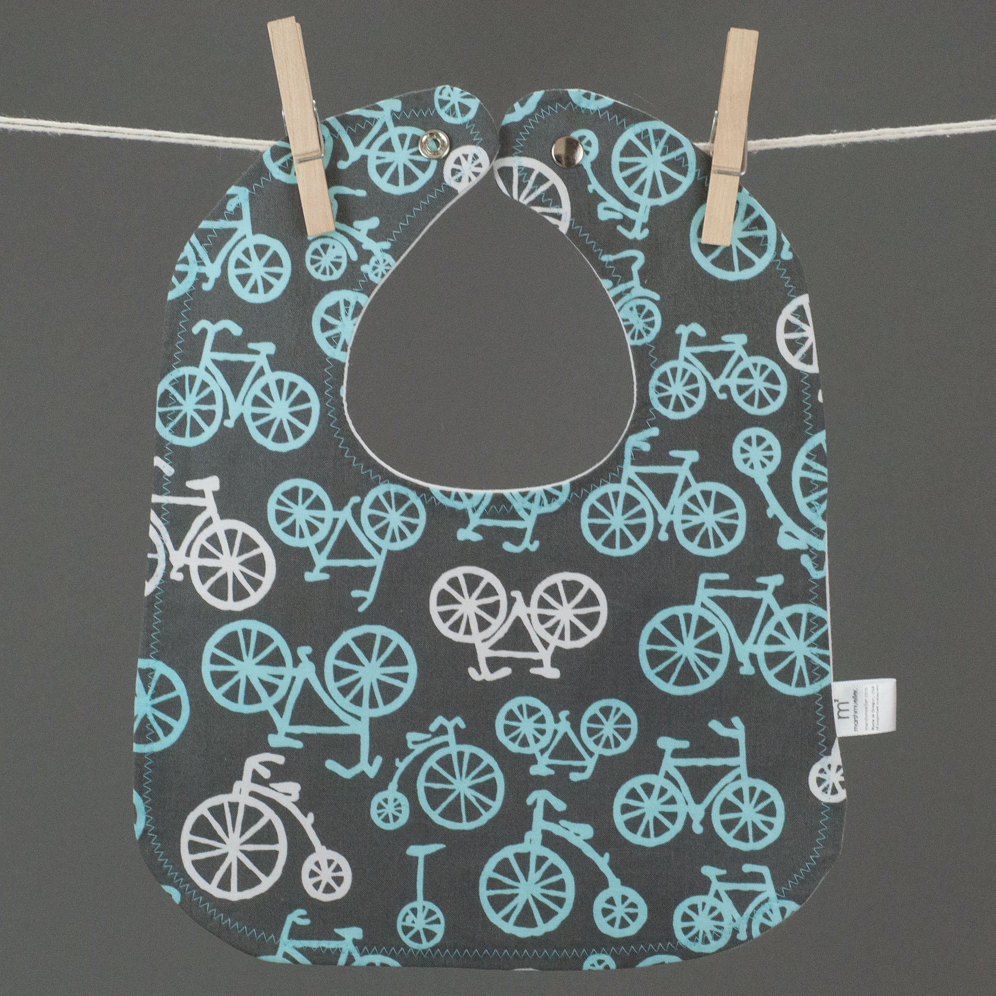 Blue Bicycles Bib, Bib, - MarshMueller