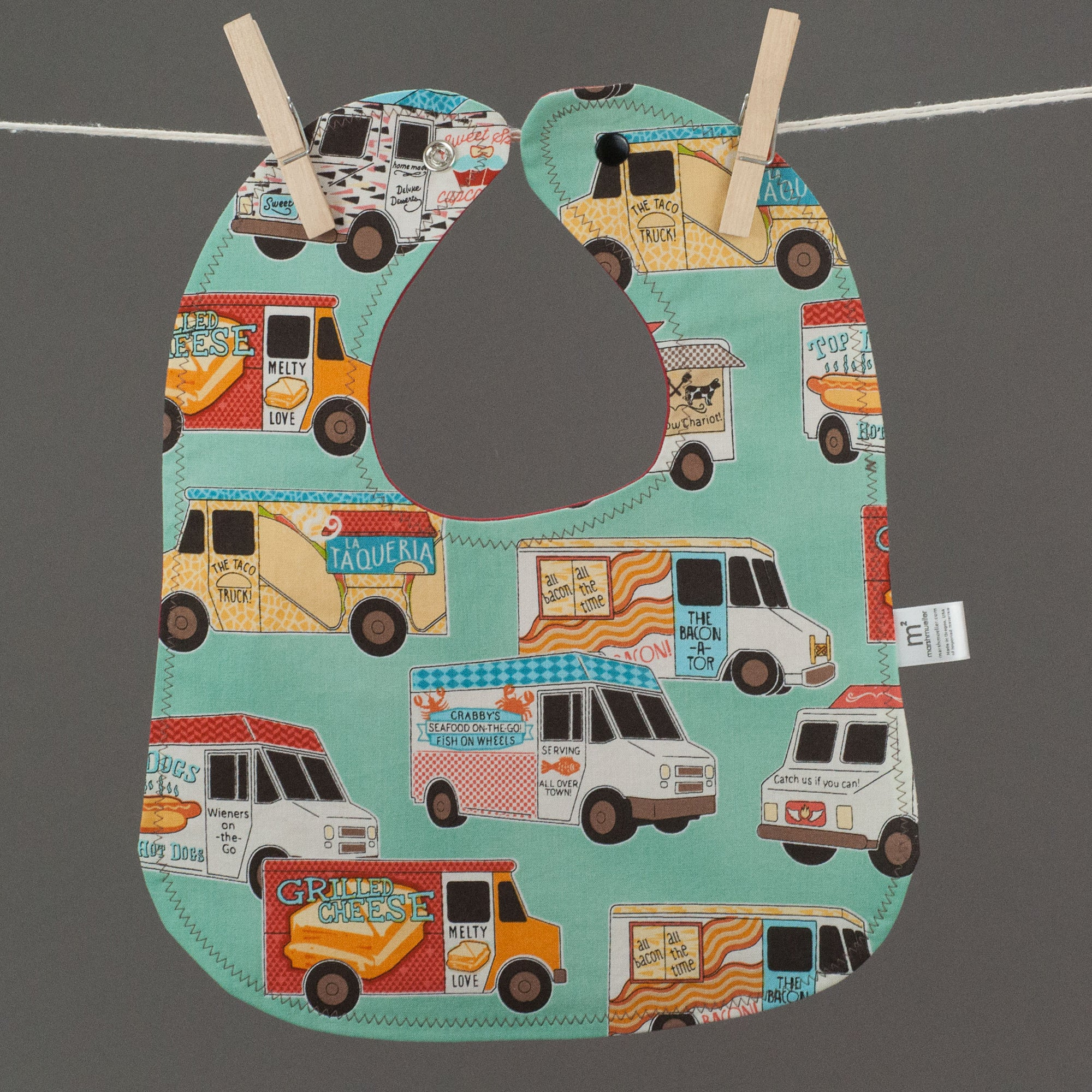 Food Trucks Bib, Bib, - MarshMueller