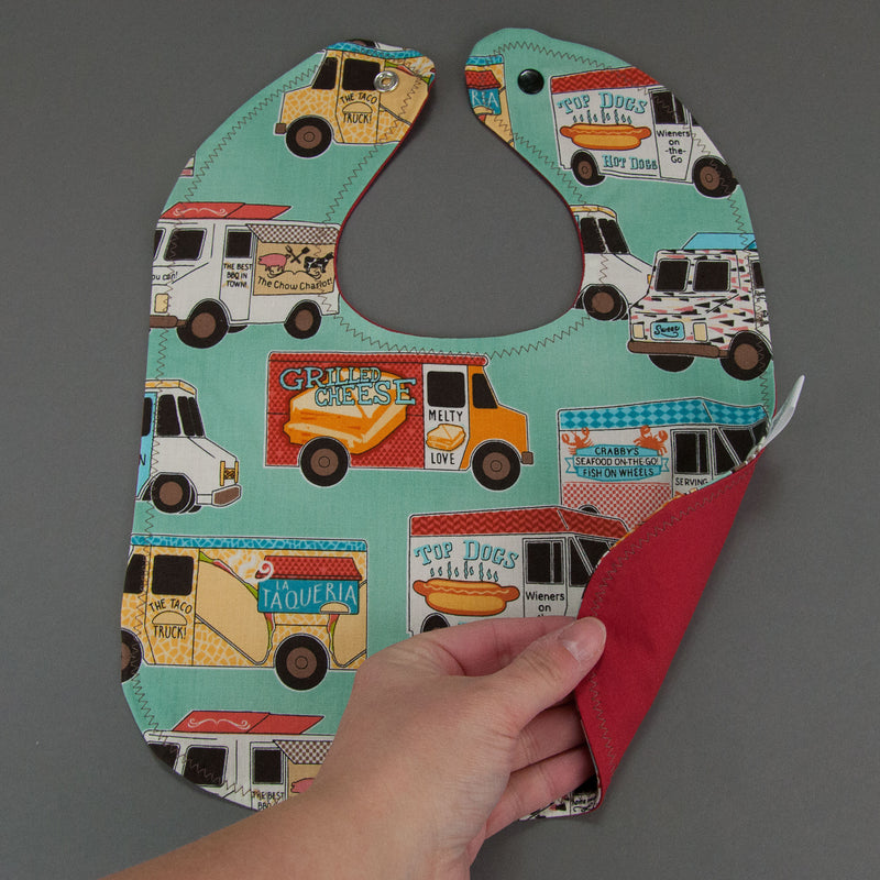 Food Trucks Bib - MarshMueller