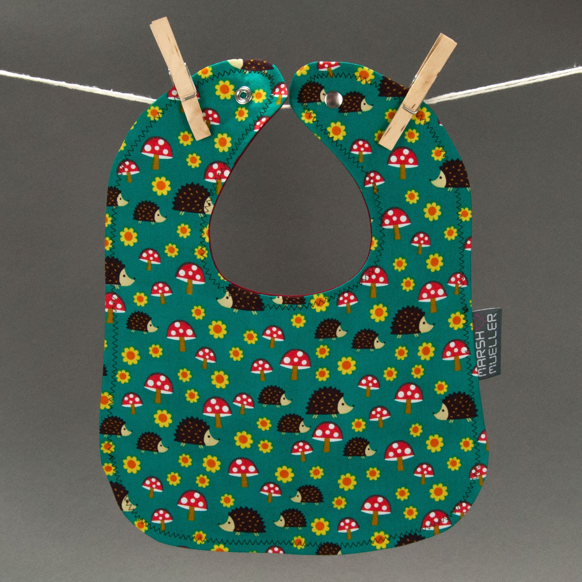 Hedgehoglets Bib