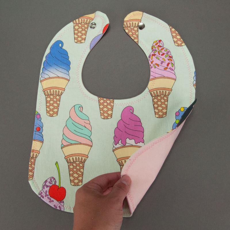 I Scream, You Scream Bib