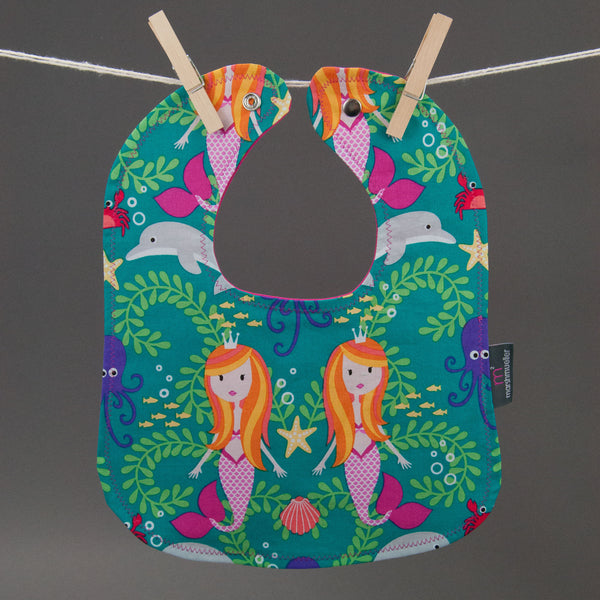 Mermaids Bib by MarshMueller