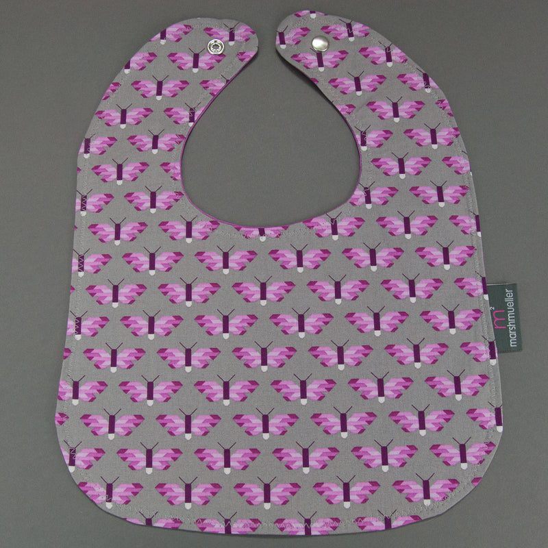 Pixelated Butterfly Bib, Bib, - MarshMueller