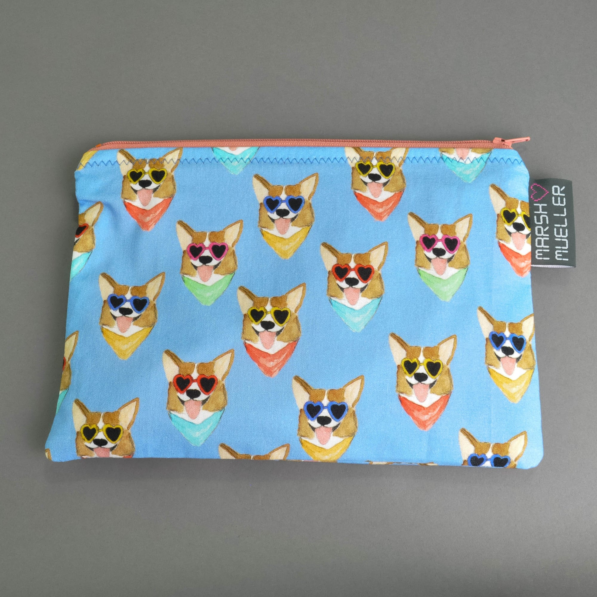 Corgis Zippy Bag