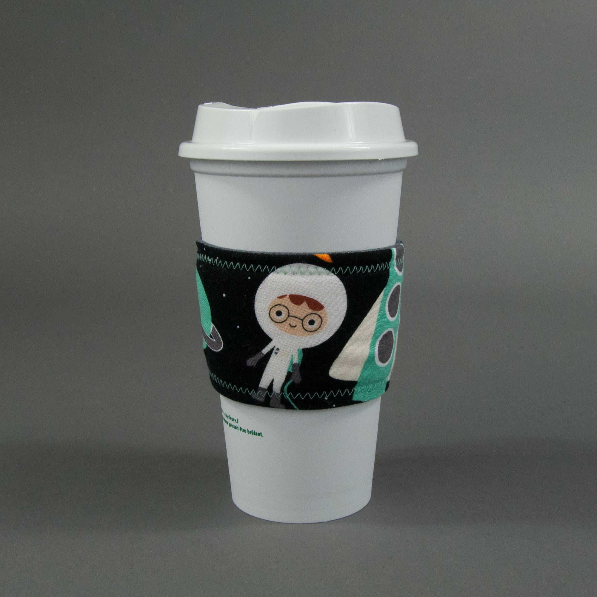 Space Explorers Coffee Cup Sleeve