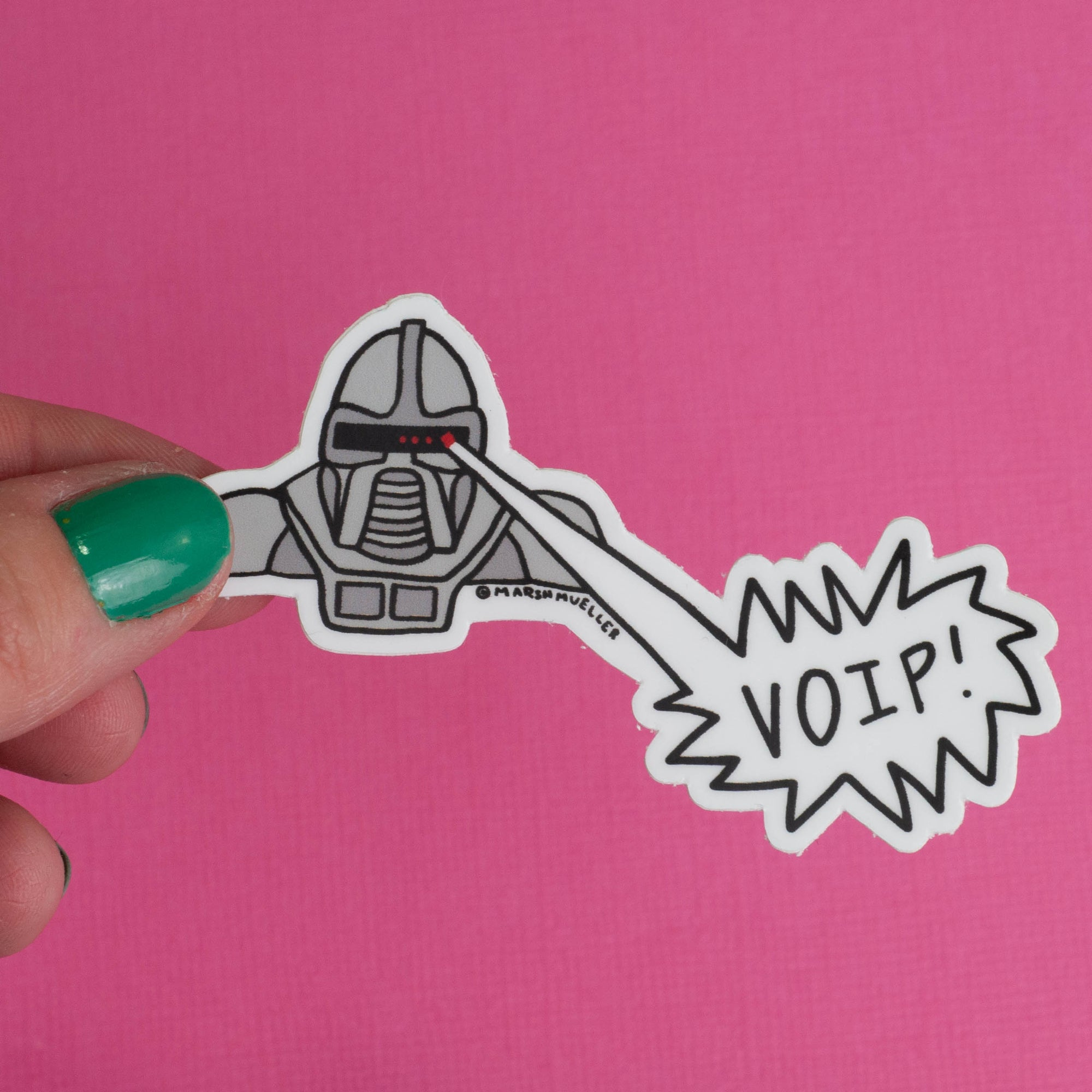 Cylon Zap! Sticker