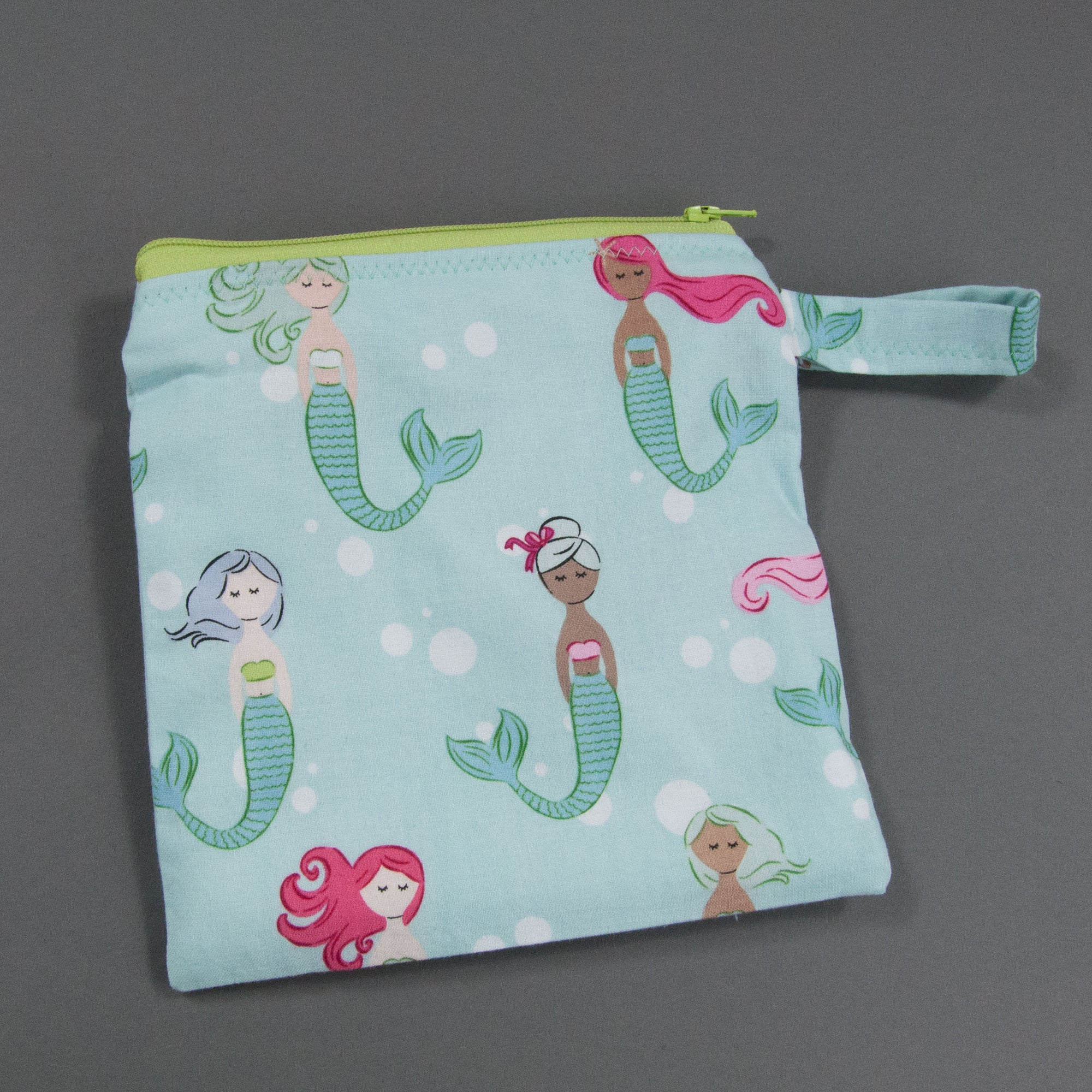 Colorful Mermaids Reusable Sandwich Bag, Reusable Sandwich Bag, - MarshMueller