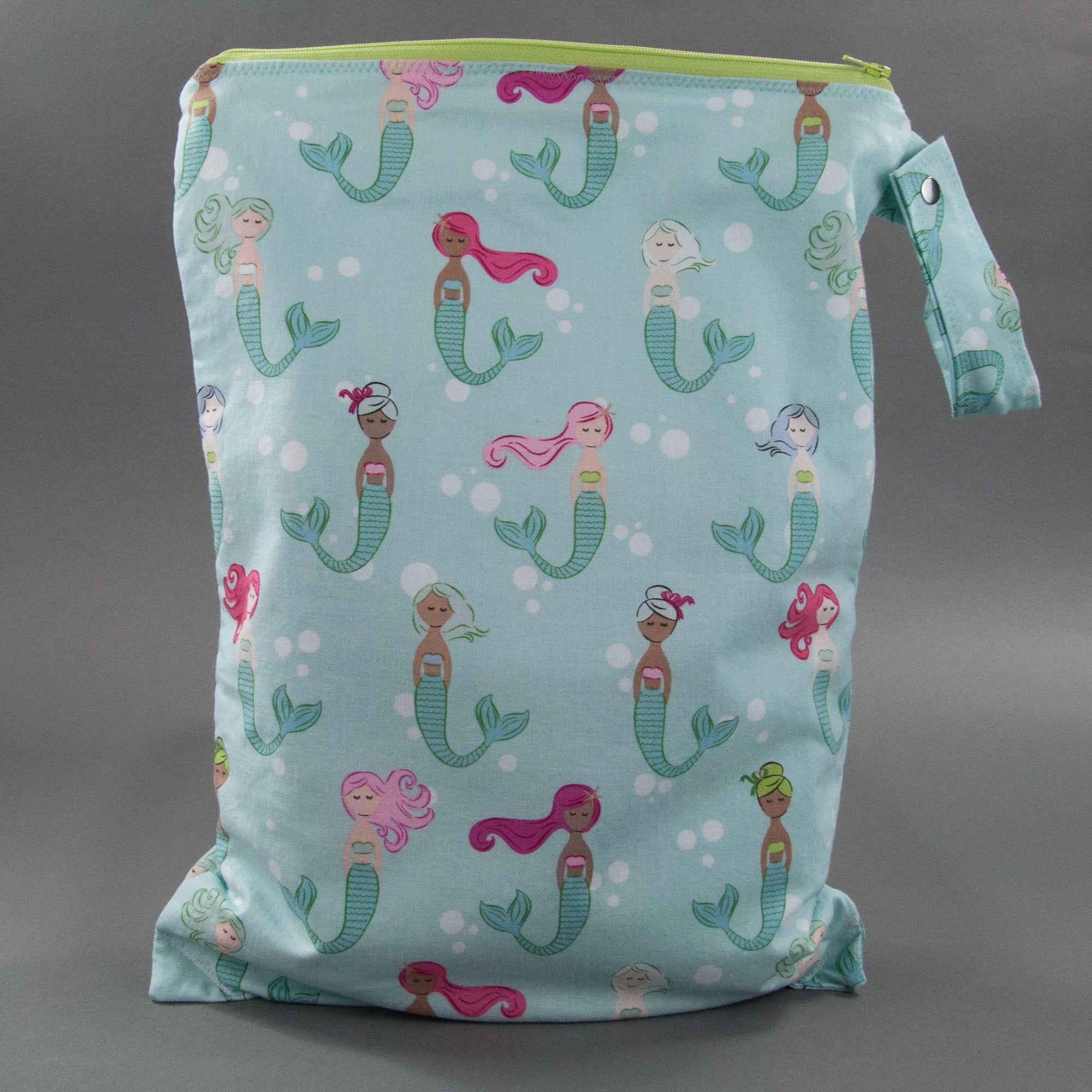 Colorful Mermaids Wet Bag
