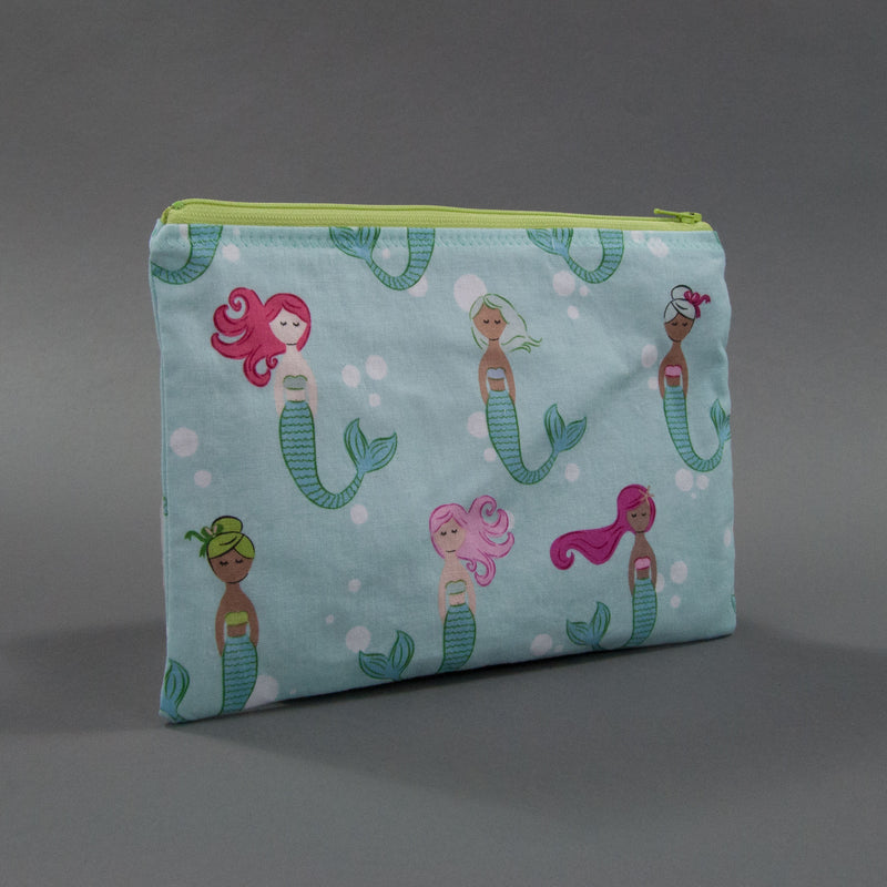 Colorful Mermaids Zippy Bag