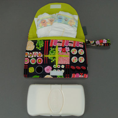 Bento Box Diaper + Wipe Clutch, Diaper + Wipe Clutch, - MarshMueller