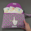 Pixelated Butterfly Diaper + Wipe Clutch, Diaper + Wipe Clutch, - MarshMueller