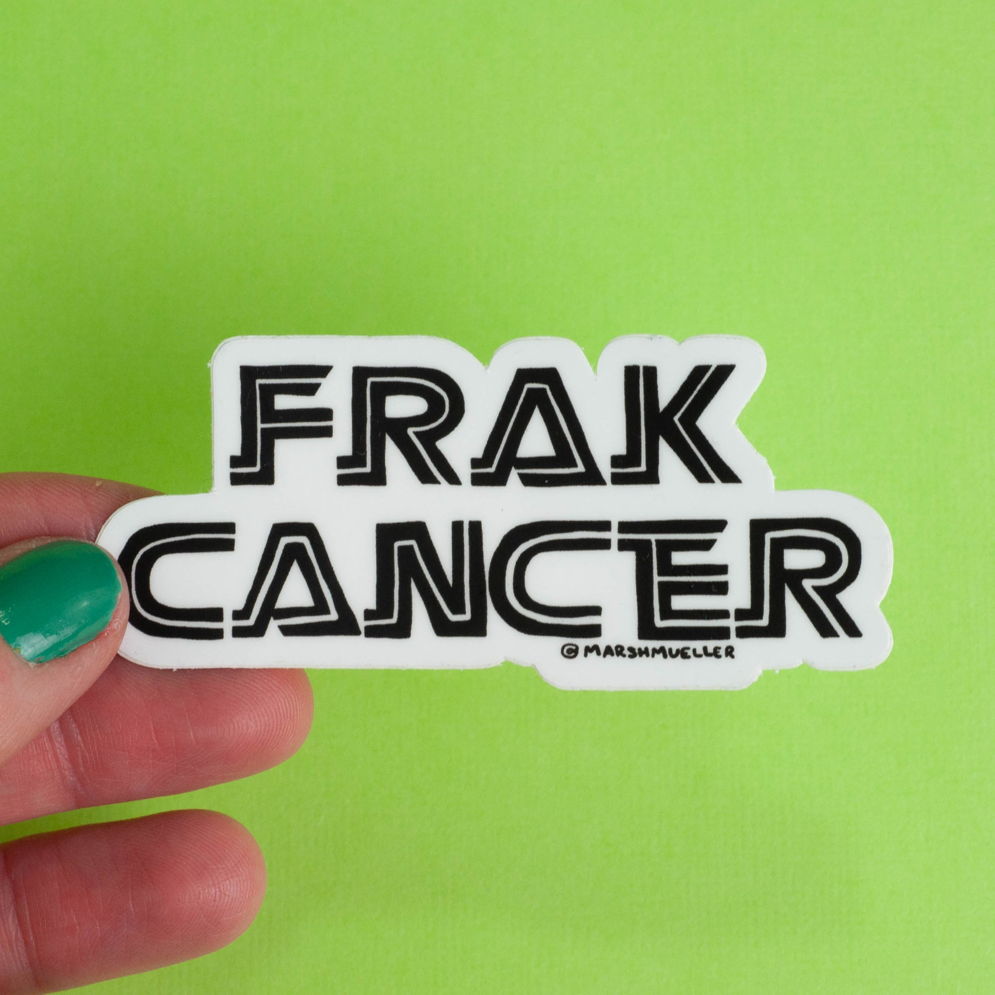 Frak Cancer Sticker