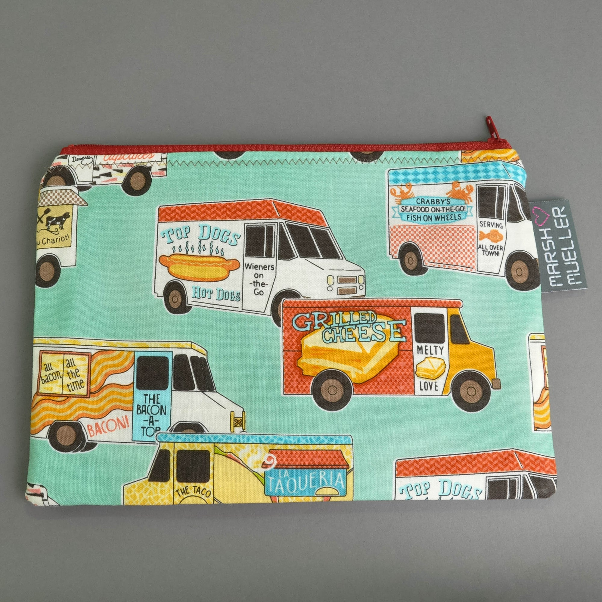 Food Trucks Zippy Bag
