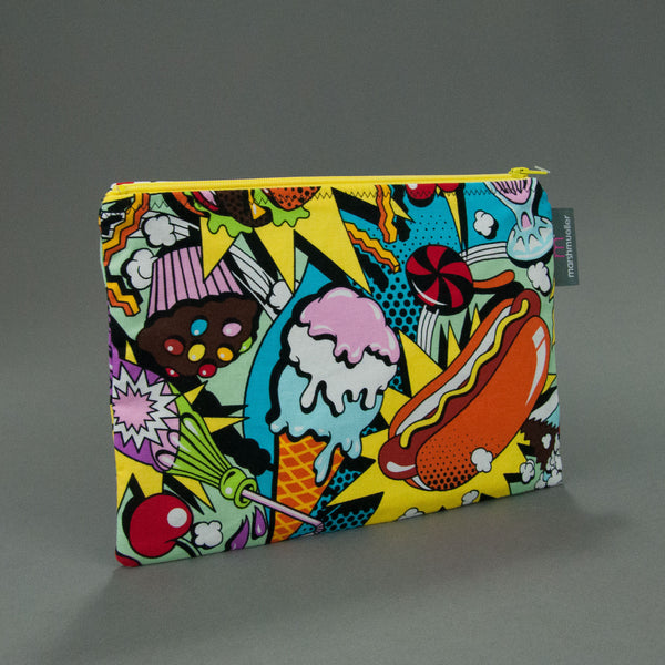 Food Fight Zippy Bag by MarshMueller