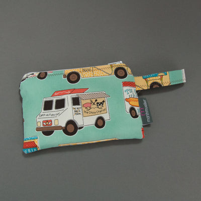 Food Trucks Reusable Snack Bag, Reusable Snack Bag, - MarshMueller