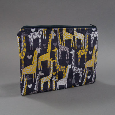 Giraffe Love Zippy Bag, Zippy Bag, - MarshMueller