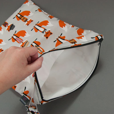 Dapper Foxes Wet Bag, Wet Bag, - MarshMueller