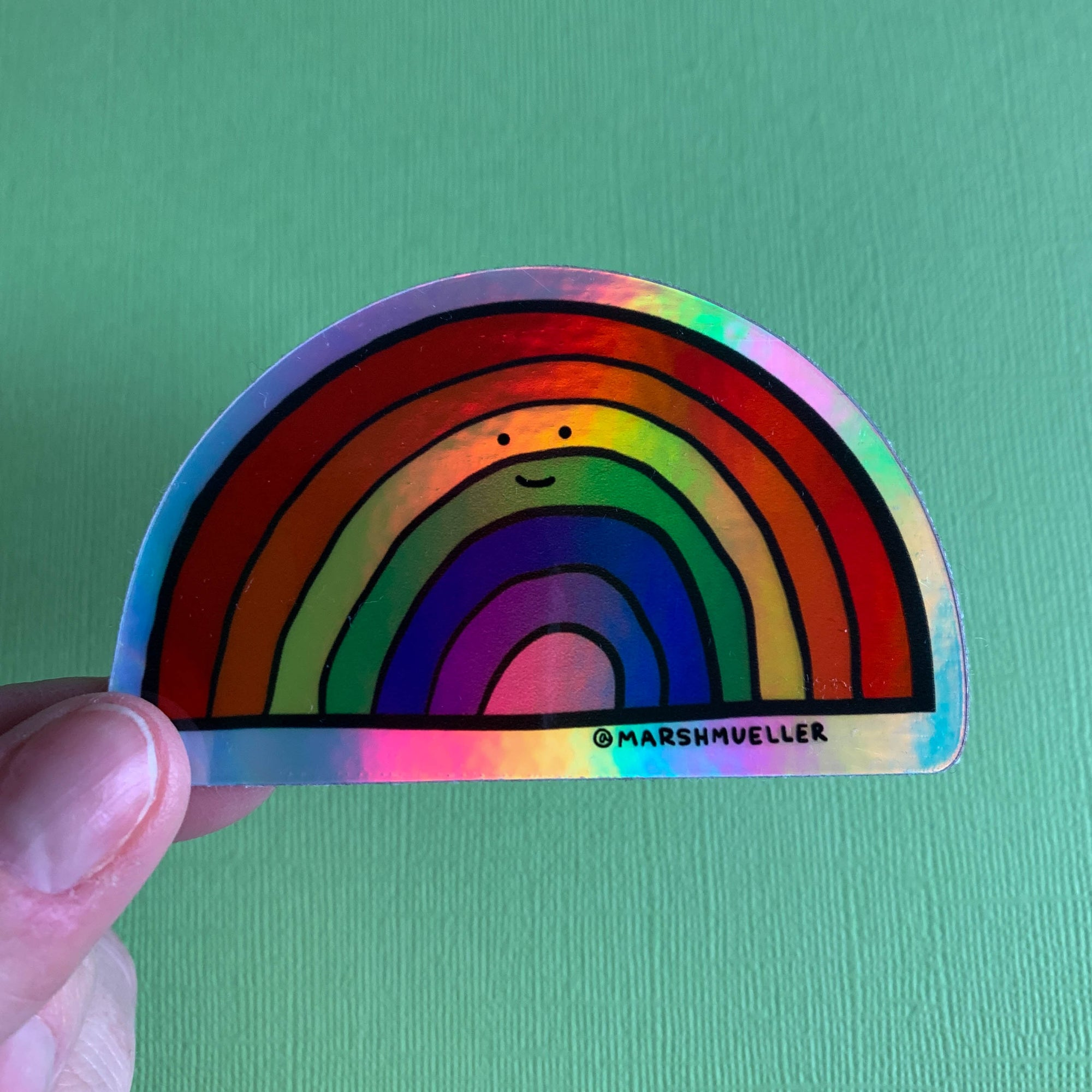 Holographic Rainbow Sticker