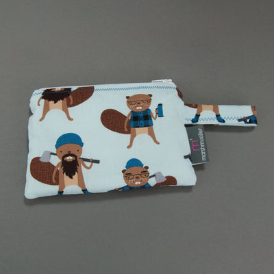 Logger Beavers Reusable Snack Bag, Reusable Snack Bag, - MarshMueller