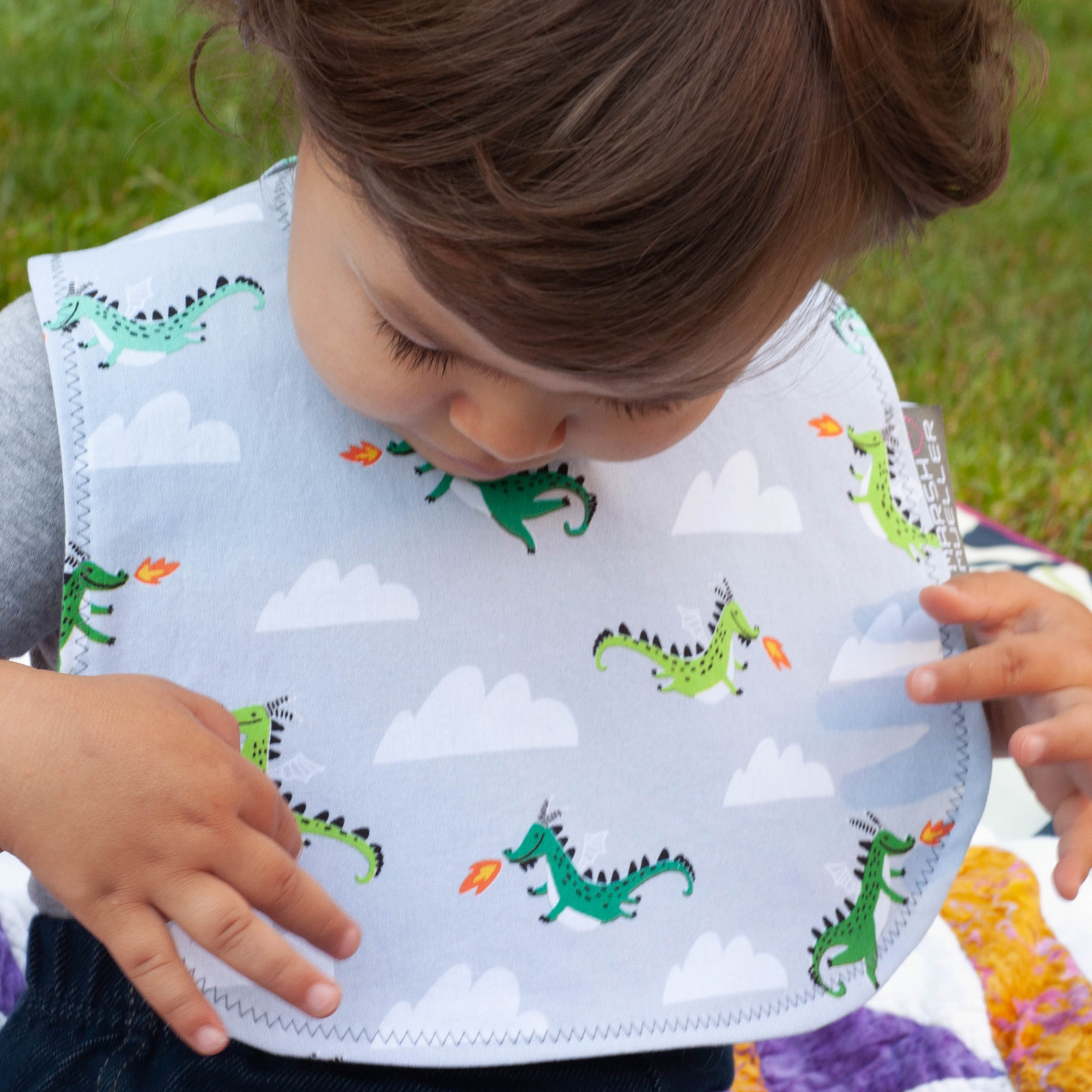 Mother of Dragons Bib
