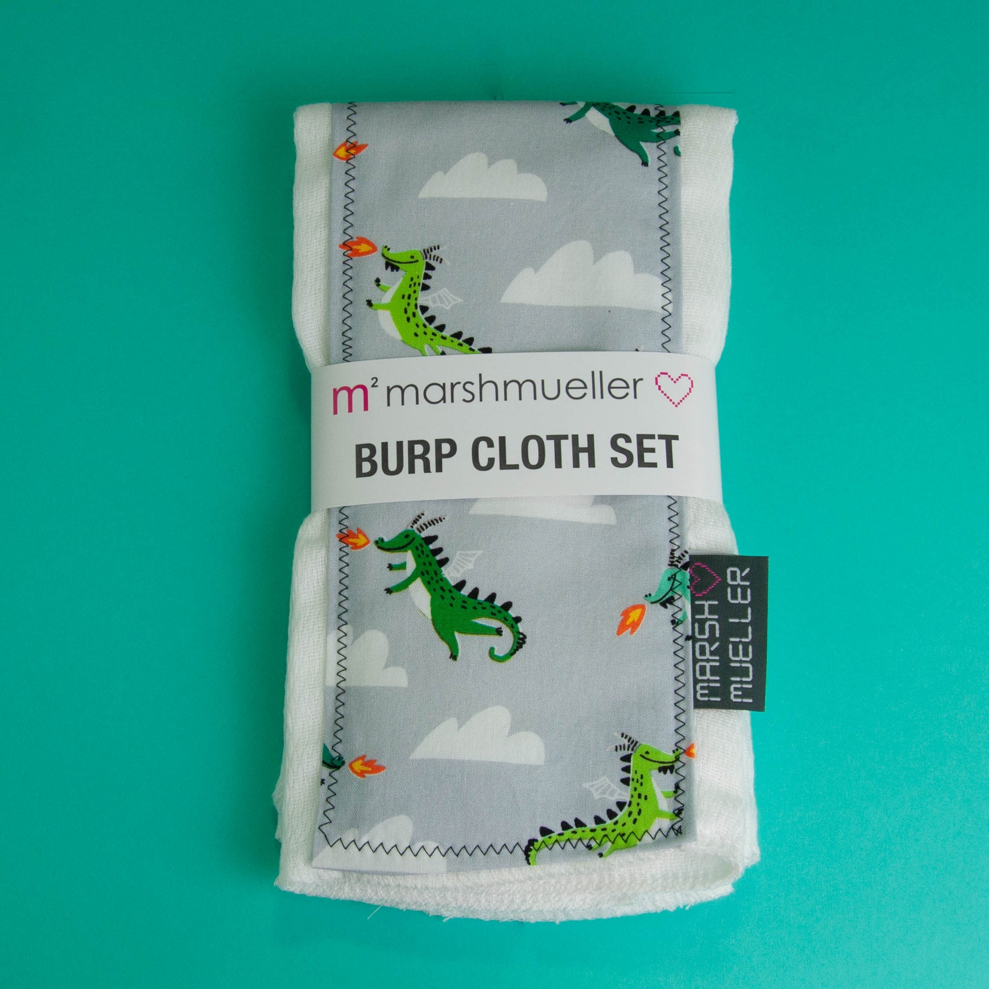 Mother of Dragons Burp Cloth Set