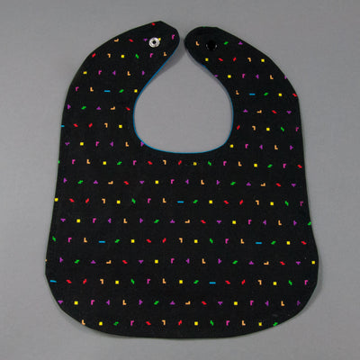 Mini Tetris Pieces Bib, Bib, - MarshMueller