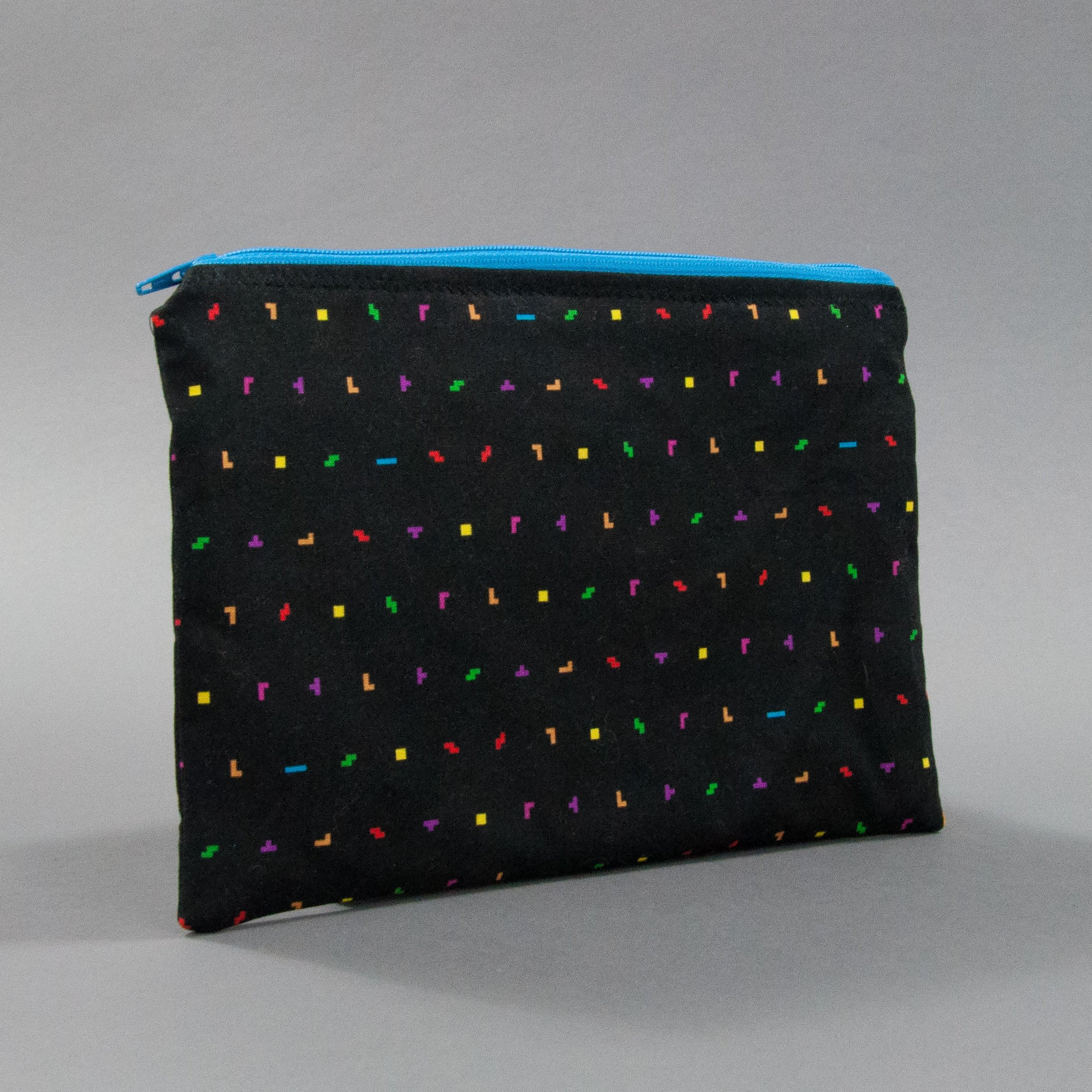 Mini Tetris Pieces Zippy Bag, Zippy Bag, - MarshMueller