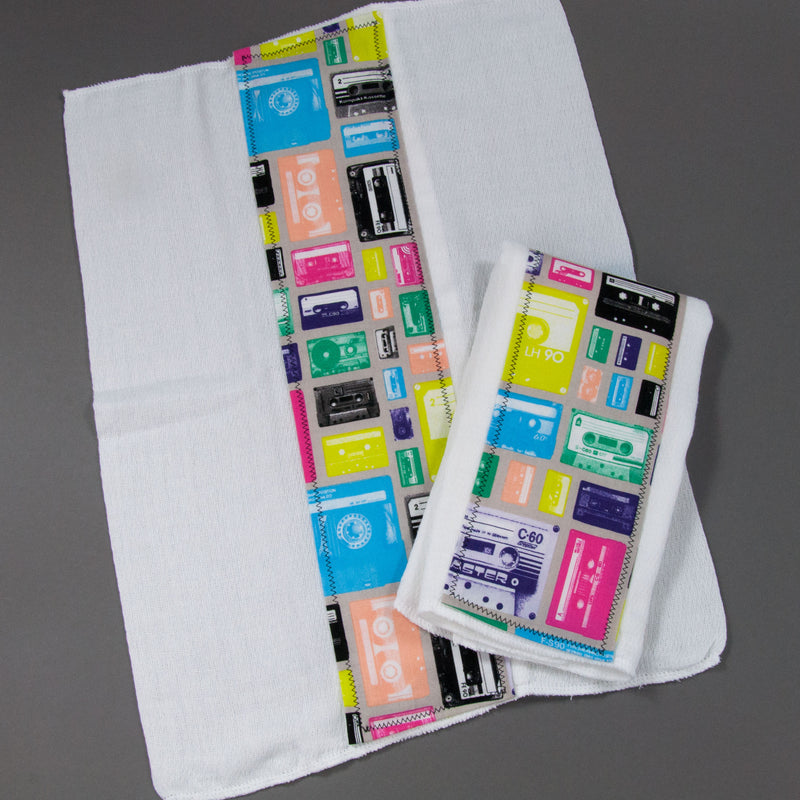 Mix Tape Multi Burp Cloth Set