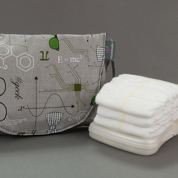 Mod Geek Diaper Wipe Clutch by MarshMueller