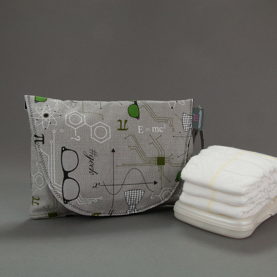 Mod Geek Diaper + Wipe Clutch, Diaper + Wipe Clutch, - MarshMueller