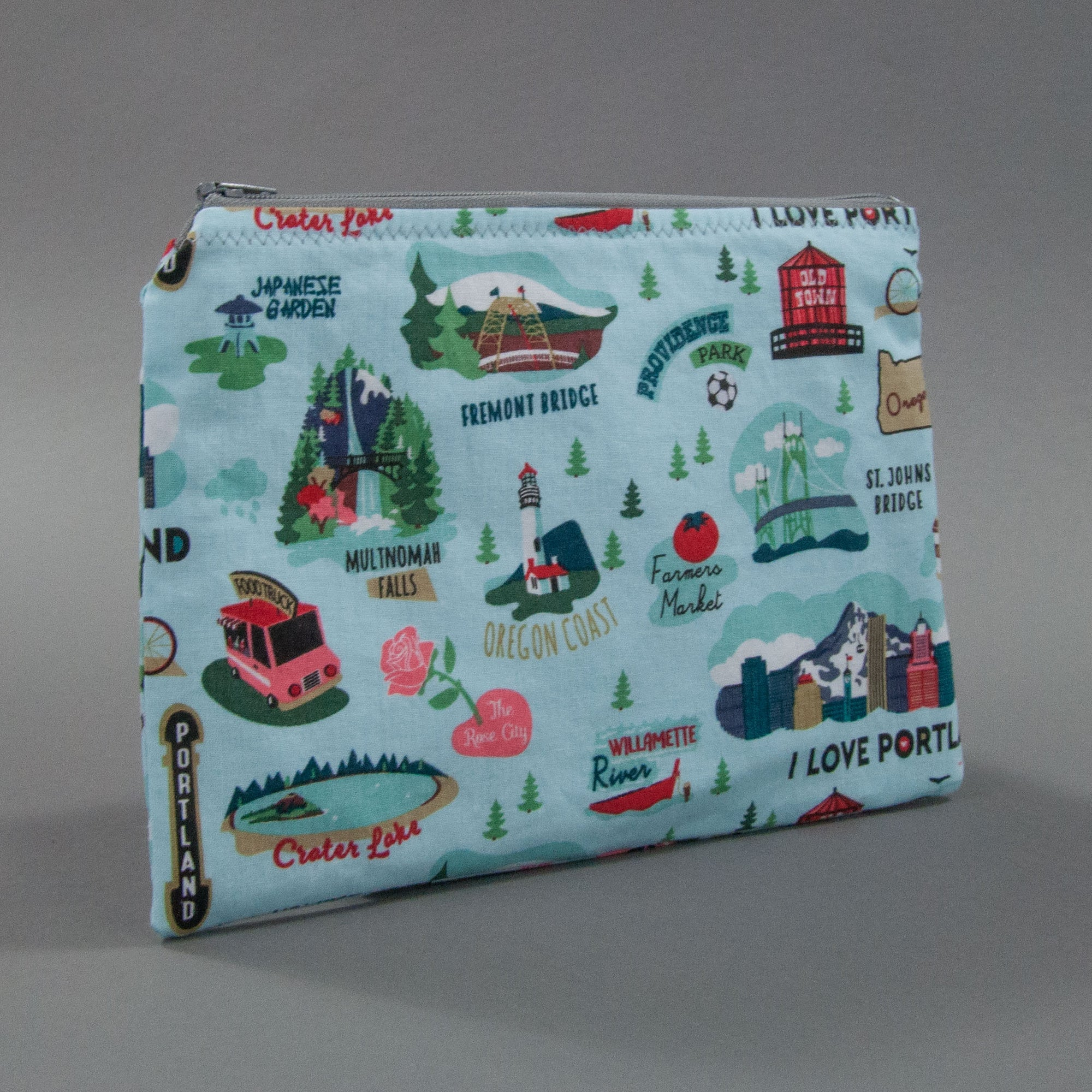 Oregon Zippy Bag, Zippy Bag, - MarshMueller