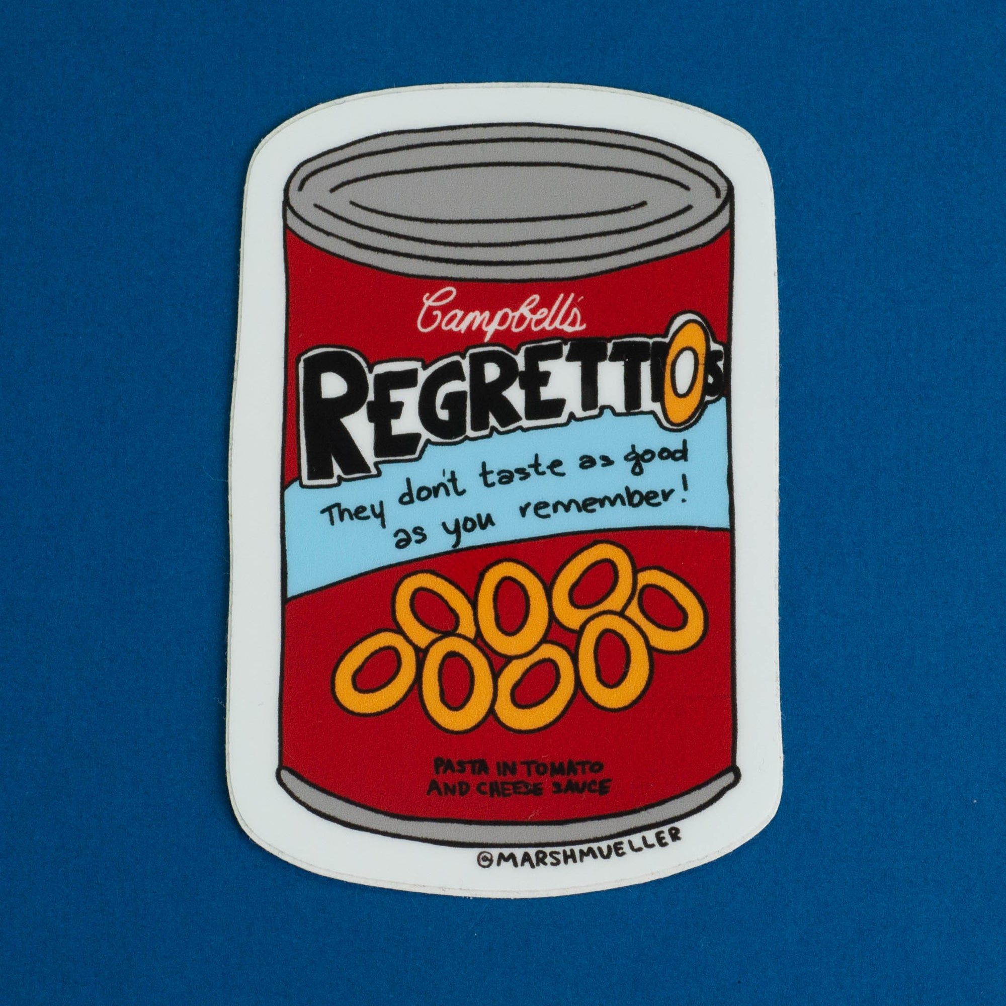 Regretti-os Sticker