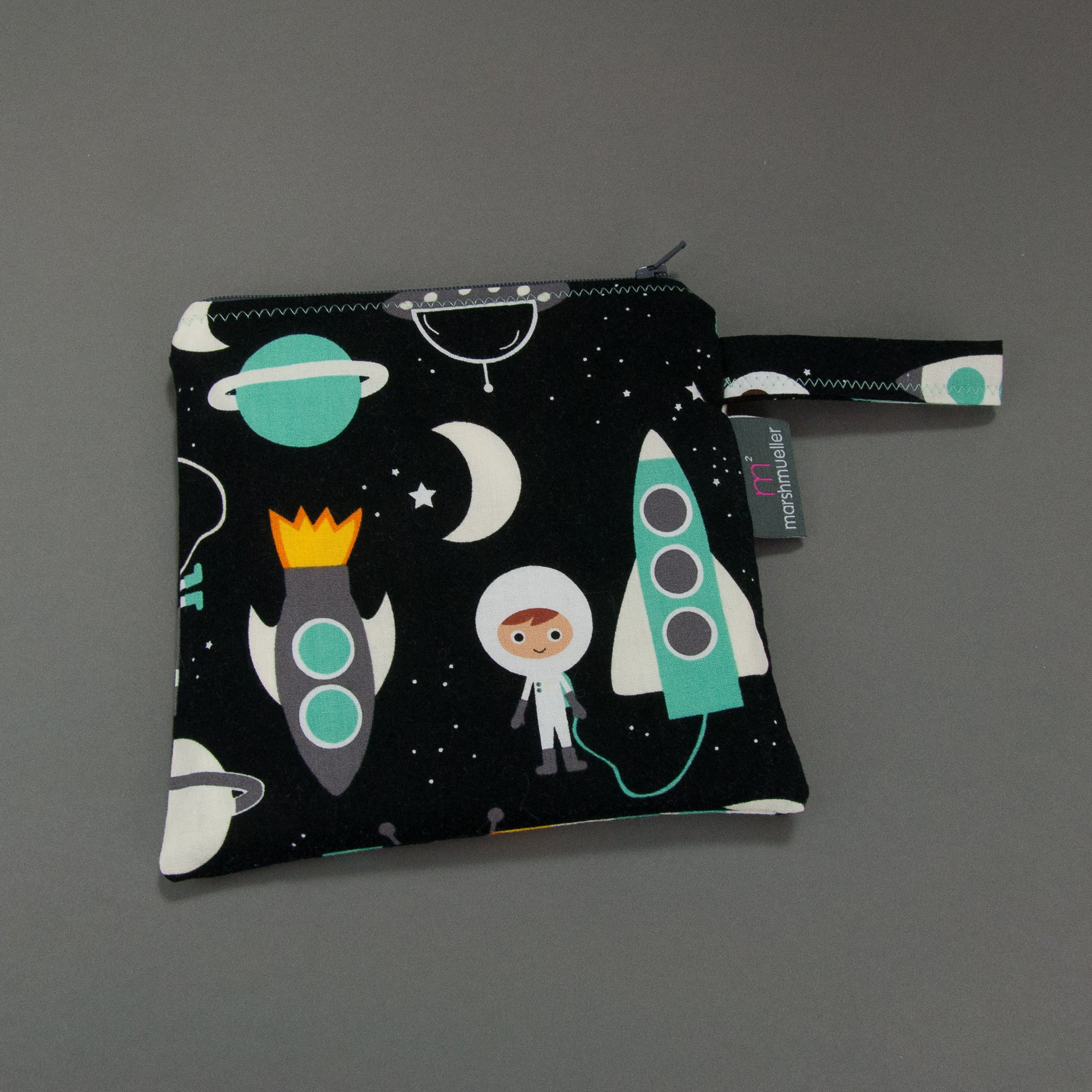 Space Explorers Reusable Sandwich Bag