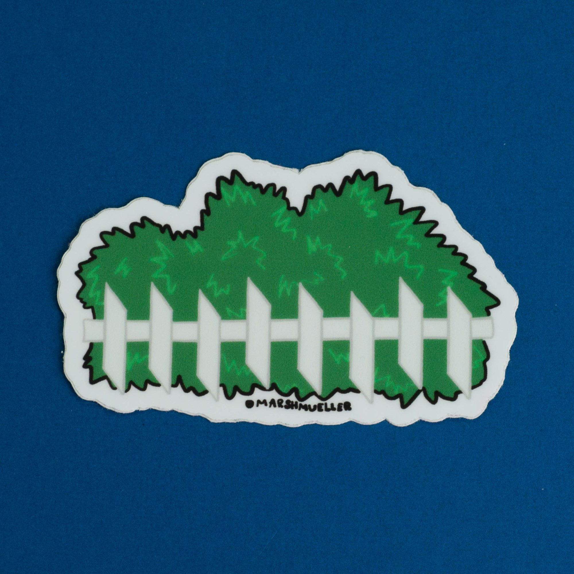 Shrubbery Sticker