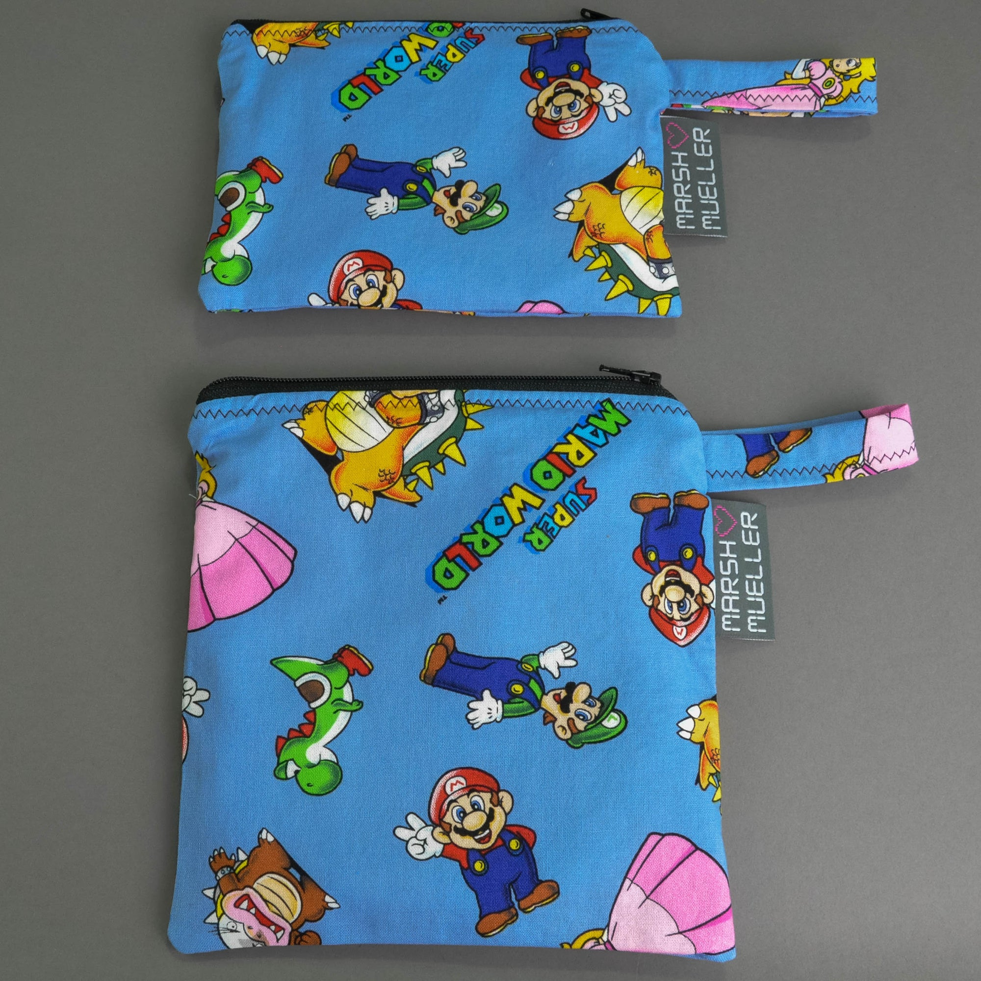 Super Mario World Snack and Sandwich Bag Bundle