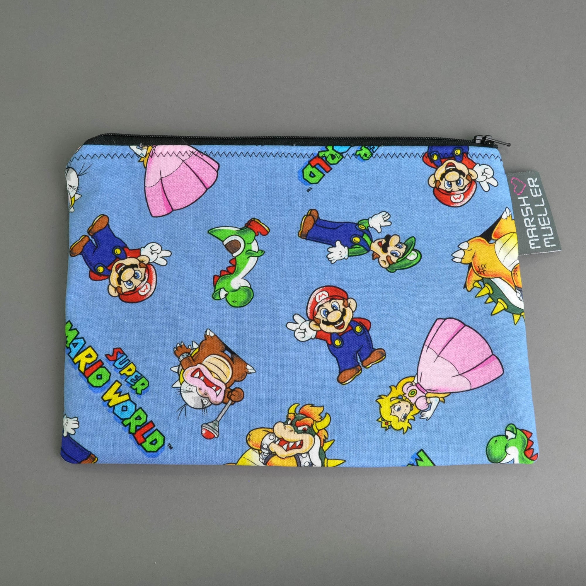 Super Mario World Zippy Bag