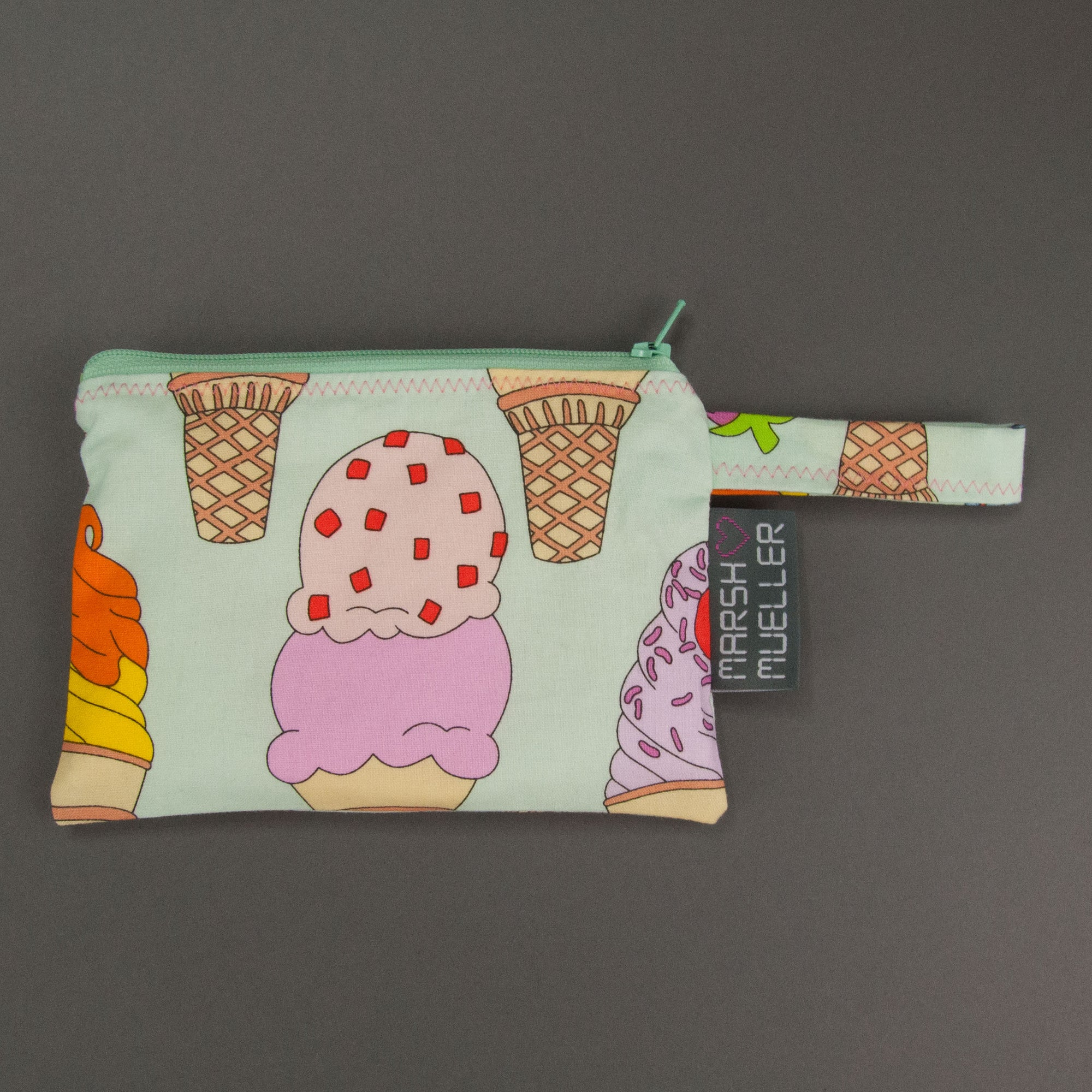 I Scream, You Scream Reusable Snack Bag, Reusable Snack Bag, - MarshMueller