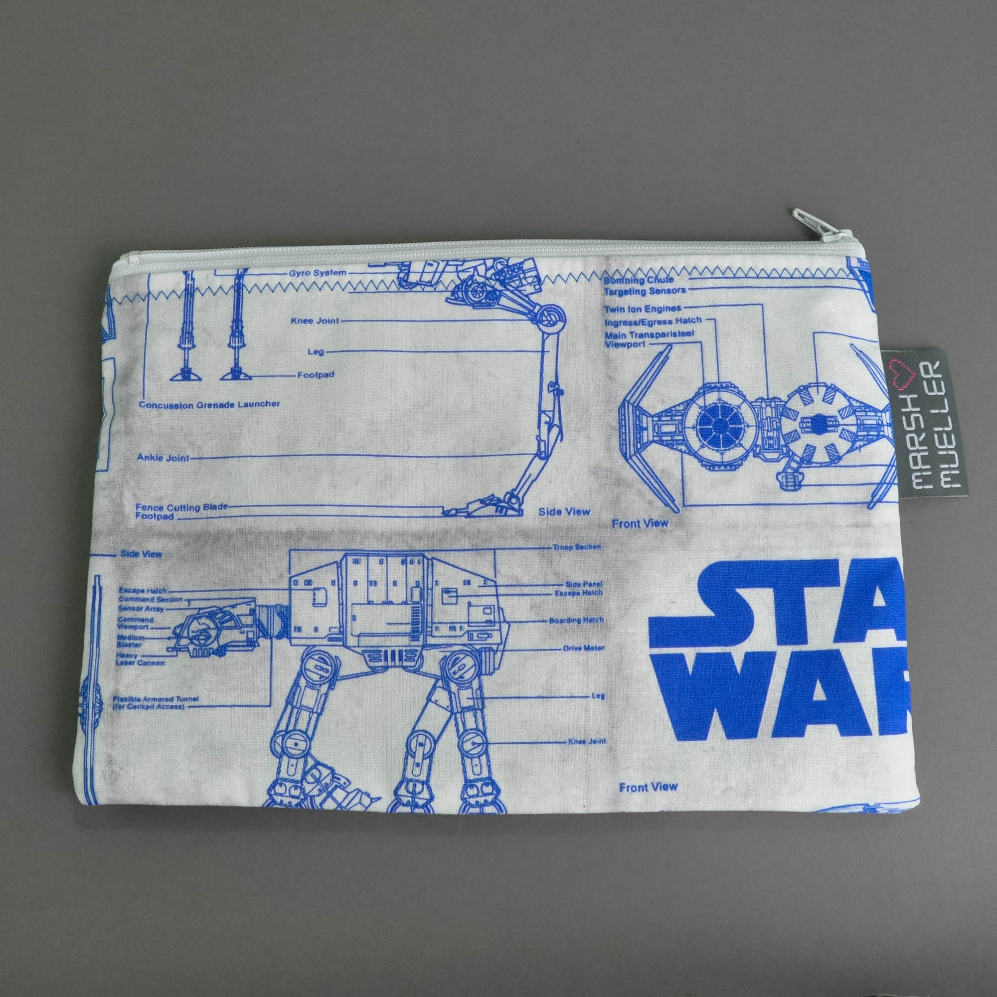 Star Wars Blueprint Zippy Bag