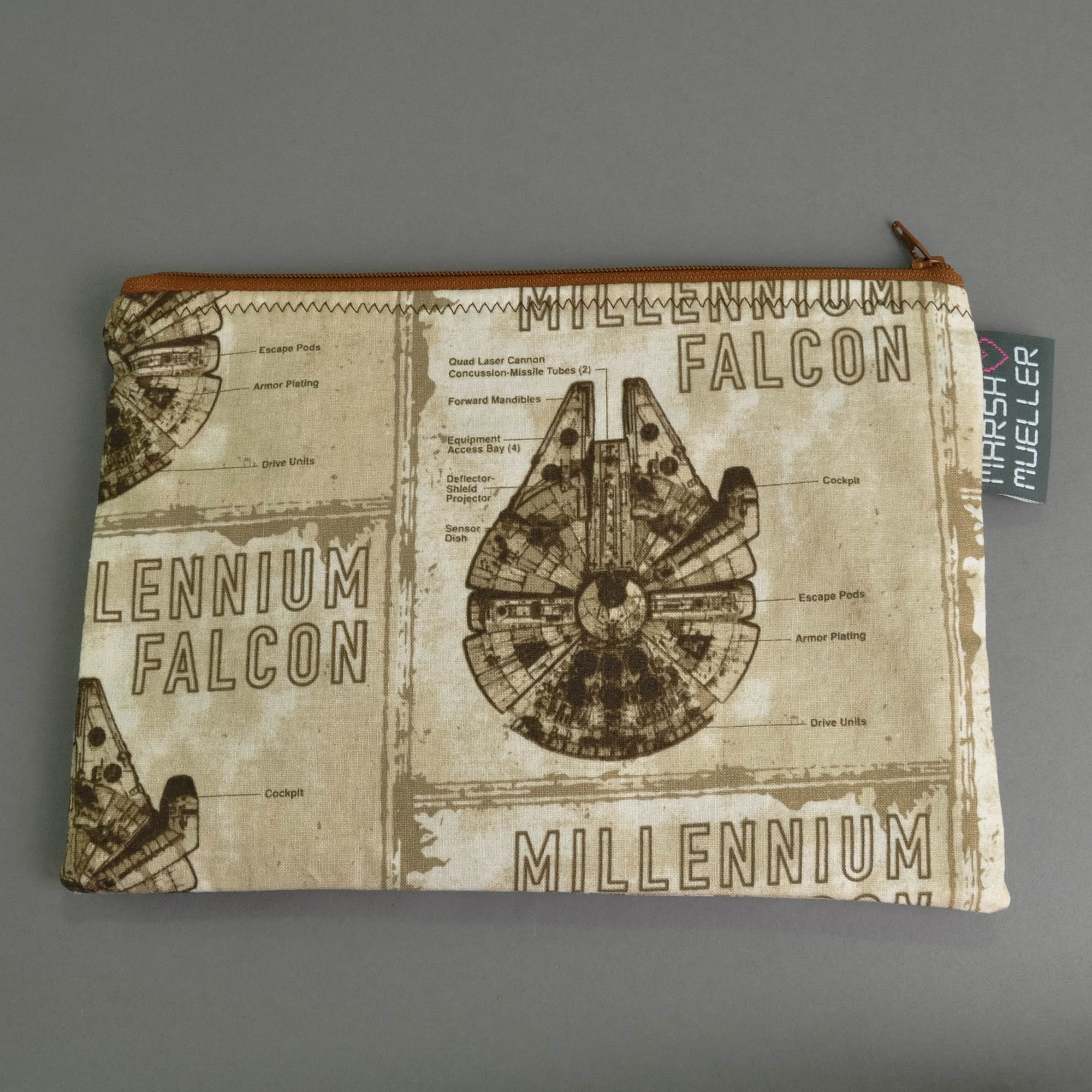 Millennium Falcon Zippy Bag